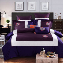 New Bedding Set Luxury Bedding Sets Egyptian cotton High Quality Embroidery Comfortable Bedding Duvet Cover Bed Sheet