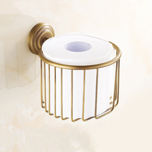 Free Shipping Toilet Paper Holder,Roll Holder,Tissue Holder,Solid Brass Antique bronze-Bathroom Accessories Products  1217