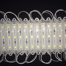 ED Module Unit SMD 5630 3 LED DC 12V Waterproof IP65 cold white/ warm white Light Strip