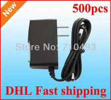 High Quality 500pcs/Lot AC 100-240V to DC 12V 9V 7.5V 6V 5V 1A 5V 2A Power Adapter Supply adaptor US Plug DHL fast shipping