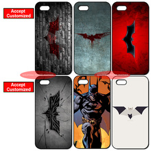 New Batman Logo Print Cover Case for iPhone 4 4S 5 5S SE 5C 6 6S 7 Plus iPod Touch 5 LG G2 G3 G4 G5 G6 Sony Xperia Z2 Z3 Z4 Z5