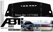 dashboard, isolation heat pad, avoid emitting light, polyester, for Passat 2009 1.8T, free shipping(China)