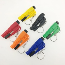 Mini Safety Hammer Auto Car Window Glass Breaker Seat Belt Cutter Rescue Hammer Car Life-saving Escape Tool