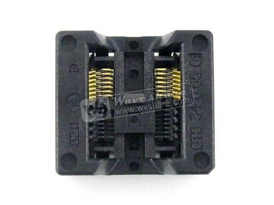 module SSOP14 TSSOP14 OTS-14(34)-0.65-01 Enplas IC Test Burn-in Socket Programming Adapter 0.65mm Pitch 5.3mm Width<br>