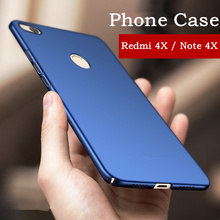 VTR Luxury hard back plastic matte case for Xiaomi Redmi note 4x cover full PC red back cover for xiaomi redmi 4x phone shell