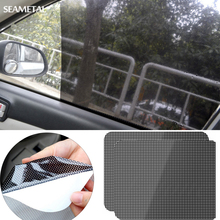 2 pcs Car Styling Side Rear Window Solar Sunshade UV Protector Visor Cover Block Static Film Shield Screen Interior Accessories