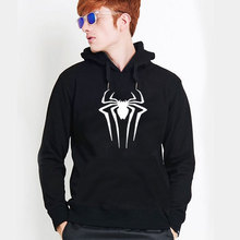 2016 New Spiderman Hoodies Men Sweatshirt Fashion Solid Hoodie Mens Hip hop Pullover Men's Tracksuits Moleton Masculino Hoody(China)
