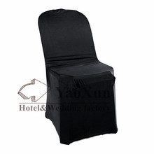 Black Color Plastic Chair Cover \ Lycra Spandex Chair Cover