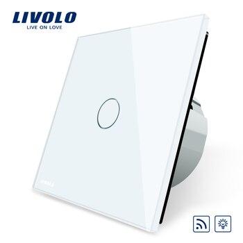 Livolo EU Standard Switch,  Eu Standards  AC 220~250V Remote& Dimmer Wall Light Switch,VL-C701DR-1/2/3/5