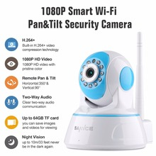 Buy SANNCE 1080P Wireless IP Camera Home Security IP Camera Wifi Surveillance Camera IR Night CCTV Camera Baby Monitor 1920*1080 for $36.47 in AliExpress store