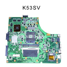 K53SV motherboard For Asus K53SM A53S X53S laptop motherboard 8 memory mainboard rev 3.0,3.1, 2.1, 2.3 GT540M 100% tested