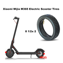 Xiaomi Mijia M365 Scooter Solid Tire Skateboard Tyre Wheels 8 1/2X2 for Xiaomi Electric Skate Board Avoid Pneumatic Tyre Upgrade(China)