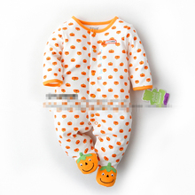 New arrival baby girls printed cotton rompers spring and autumn cartoon pattern for newborn to 18 Month child jumpsuit costume