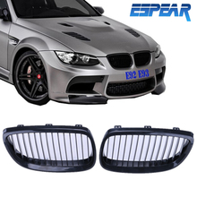 2x Front Grilles Kidney Grills For BMW E92 Coupe E93 Convertible 3 Series 328i 335i M3 2007 2008 2009 2010 Car Styling #924
