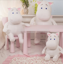 1pcs Genuine 25cm Moomin Hippo Plush Toy Stuffed Doll little fertilizer valentine Park Spring bom Free shipping