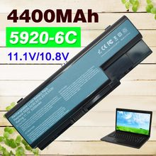 4400mAh Laptop battery For Acer Aspire AS07B31 AS07B41 AS07B42 AS07B51  AS07B72 5920 5920G 5315 5520G 6930 6935  7330 7520 7530