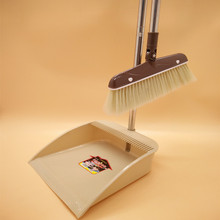 Spin Broom Dustpan Magic Broom Sweeper Hard Floor Sweeper Dustpan Trash Clean Dirty MAMA Broom Tools(China)