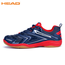 Non-slip Light Badminton Shoes for Men Breathable Anti-Slippery Tennis Sneakers Lace-up Sport Shoes Training Athletic Shoe Men's(China)