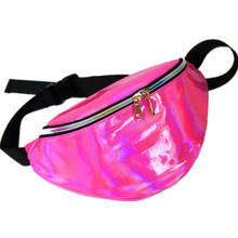 women's handbags Laser purse translucent fanny pack reflective chest waist bag women belt bag waist leg bag 6 colors waist pack(China)