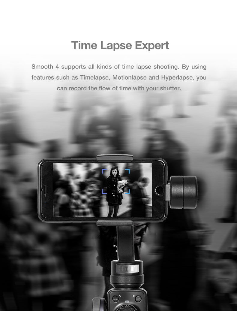 Presell ZHIYUN smooth 4 smartphone video Handheld 3 Axis Gimbal Portable Stabilizer for iPhone x Camera Gimbal VS zhi yun Smooth Q