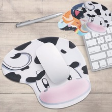 Cute Cartoon Animal Silicone Anti Slip Memory Foam Wrist Rest Support Mouse Pad
