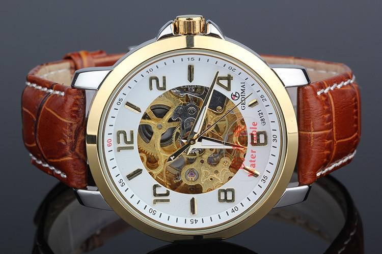 GEDIMAI Mechanical Watch Men Fashion Top Brand Luxury Waterproof Sport Wrist Watch for Men Clock Relojes Hombre 2017<br>