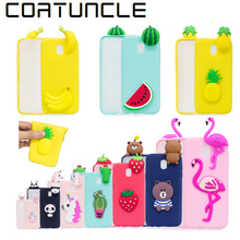 COATUNCLE Soft TPU Phone Case sFor Samsung galaxy J3 2017 3D Silicon Dolls Toys Cartoon Cover For Fundas Samsung J3 2017 Case(China)