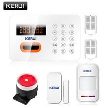 High Quality  English/Russian/Spanish version PSTN  Burglar Alarm System Touch Keypad Wireless Alarm System Security Home