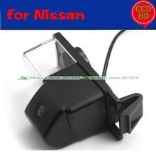For Sony CCD Nissan Tiida Skyline GT-R CUBE Livina Fairlany 350Z 370Z Geniss Car rearview parking backup Camera wire wireless(China)