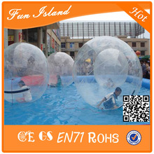 2016 Hot Sale Inflatable Water Roller ,Inflatable Ball For Floating On Water(China)