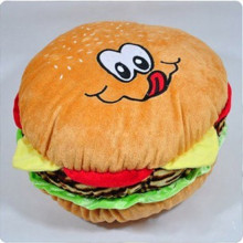 1pcs 35cm Cute Creative Simulation Food Hamburger Plush Toys Pillow The Best Gift for Friend Who Like Eat