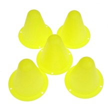 5Pcs Mark Cup Skateboard Football Soccer Rugby Speed Fitness Equipment Drill Space Marker Cones Slalom for Inline Roller Skating(China)