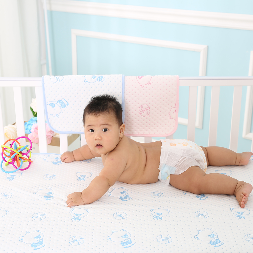 Large Size 70x100cm Reusable And Waterproof Sheet Protector Breathable Baby Incontinence Bed Pad Changing In Pads Covers
