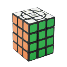 WitEden Super Crazy3x3x4 Cube Black Magic Cube Puzzle Cubo Child Grownups Brain Teaser Educational Toys Crazy 334 Cube