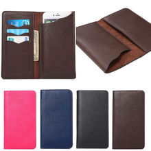 Universal Wallet Flip Leather Case Full Protective Phone Cover For HTC One E8 M8 M9 S9 A9 For HTC Desire 516 530 620 626 628 700