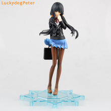 Date A Live Action Figure Toy 180MM sexy cute  School uniform Ver. Tokisaki Kurumi figure Dolls Brinquedos Anime