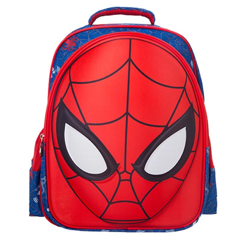 Childrens  gift 3D Spider Man School Bags High Quality Cartoon Backpack  Waterproof Child School Bag<br><br>Aliexpress