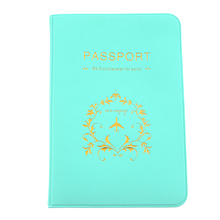 Buy Laamei Women Passport Holder Soft Protector Wallet Male Business Card Passport Cover Travel Men Wallet Credit Card Holder Cover for $1.09 in AliExpress store