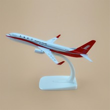 16cm Alloy Metal Air China ShangHai Airlines Model Boeing 737 800 B737 Airlines Plane Model  Aircraft Free Shipping