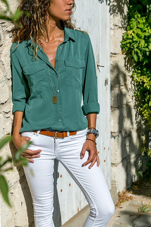 office blouse women plus size 5XL long sleeve blusas mujer de moda 2018 tallas grandes spring autumn shirt top women blouse3