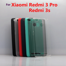 Xiaomi redmi 3S case redmi 3 pro 3 S case Cover Silicone case for xiaomi redmi 3S Prime 3 Pro 3 S Crystal and solid colors Soft