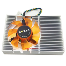 Computer radiator VGA Cooler Fan with heatsink For ZOTAC 9400gt graphics Card cooling