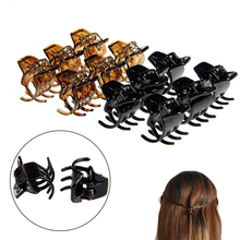Buy 12 Pcs Fashion Women Hair Claws Styling Plastic Mini Clip Claw Clamp Plastic Hair Clip Woman hair accessories 2017 New for $1.06 in AliExpress store