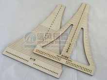 LOVE MODEL Free shipping Classic wooden sailboat model tool the Rope ladder weaver rope crochet COMBO wooden Tool