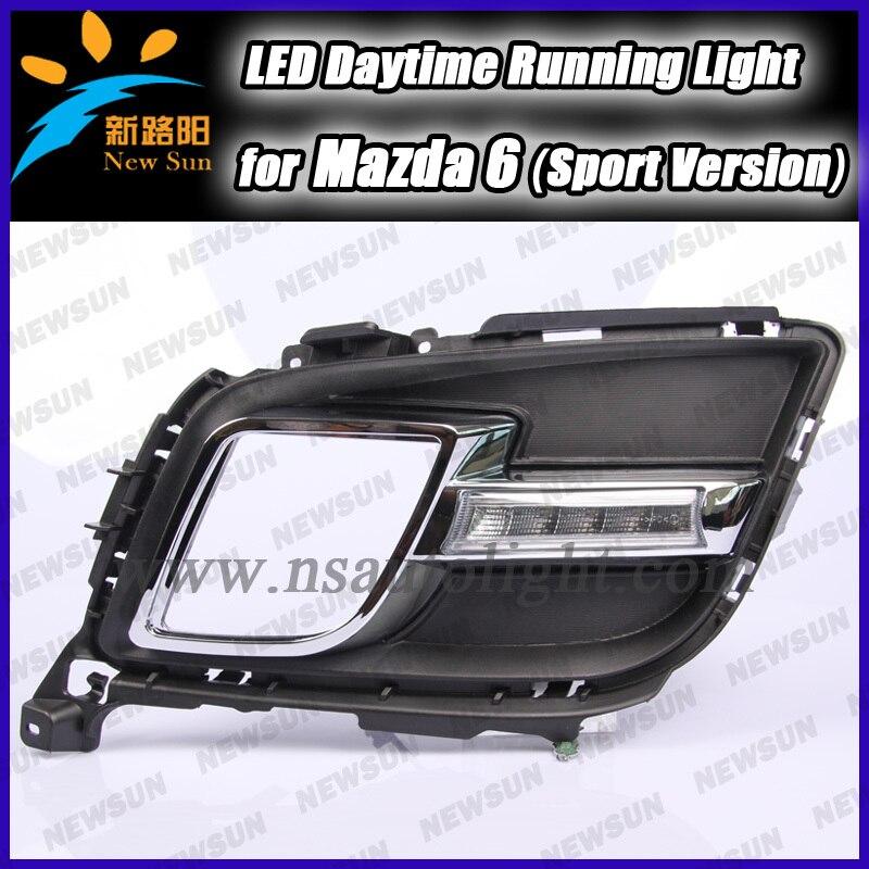 6W High power 540LM Super bright DRL Led daytime running light drl for Mazda 6 sport Led daytime running light daylight Led<br><br>Aliexpress
