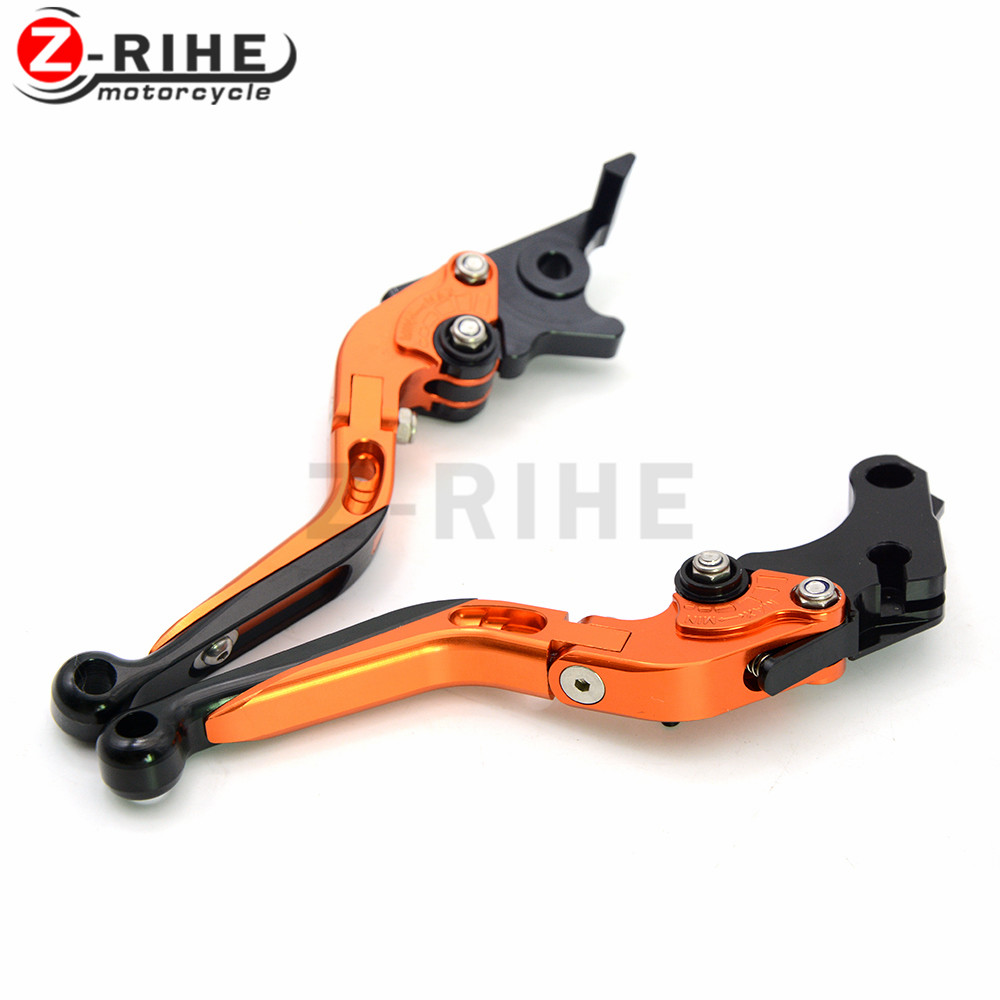 CNC brake clutch levers 3D Folding Adjustable Motorcycle Brake Clutch Levers For KTM 640 LC4 Supermoto 2003 2004 2005 2006 <br>