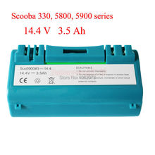 Battery for iRobot Scooba 330 340 34001 350 380 5800 5900 6000 vacuum cleaner APS 14904 SP385-BAT SP5832 34001