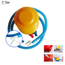 Quality Air Inflatable Foot Ball Inflator Pump Balloons Toy For Swimming Rings Pool Party Accessories