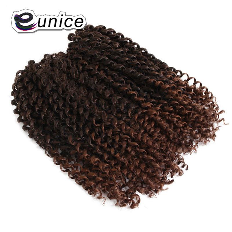3 Bundleslot Fashion synthetic braiding hair 10inch Freetress Jerry Curl Crochet Braid  (18)