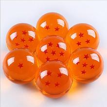 1pcs Dragonball star crystal ball 3.5cm diameter FS Promotion Japan Anime 7 star ball DBZ dragon ball resin ball original box